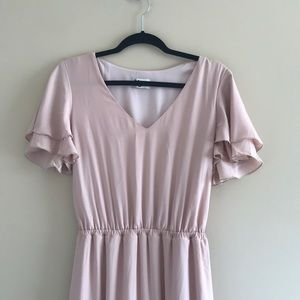 Show me your Mumu Michelle Maxi Dress Dusty Blush